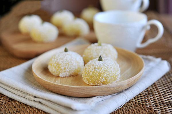 Bánh nếp dừa làm dễ ăn ngon 16