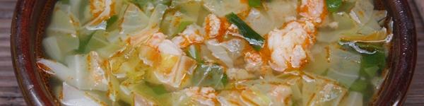 Canh bắp cải nấu sườn đậm đà giản dị 18