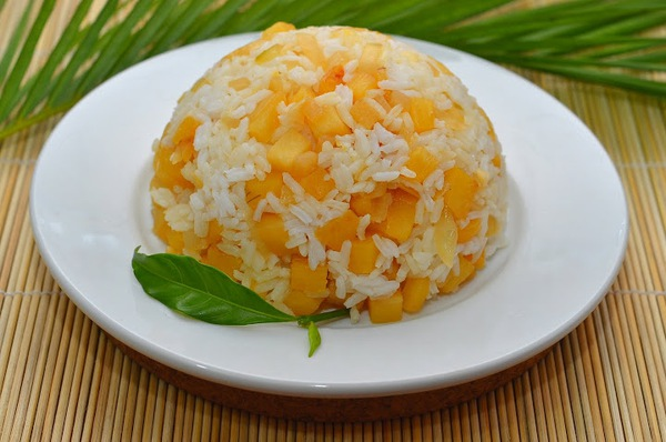 Cơm chay kiểu Thái cho ngày rằm thanh tịnh 1