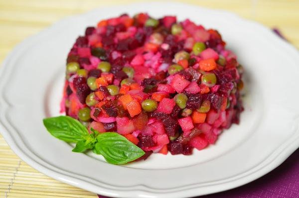 Cách làm salad tím hồng lãng mạn cho bữa tối 1