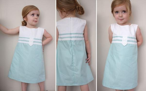 Cách may váy hè cho bé yêu thật chuẩn cỡ 7