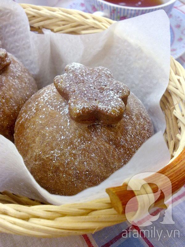 Cuối tuần vào bếp làm bánh mỳ cafe thơm lừng hấp dẫn 13