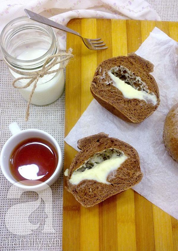 Cuối tuần vào bếp làm bánh mỳ cafe thơm lừng hấp dẫn 14
