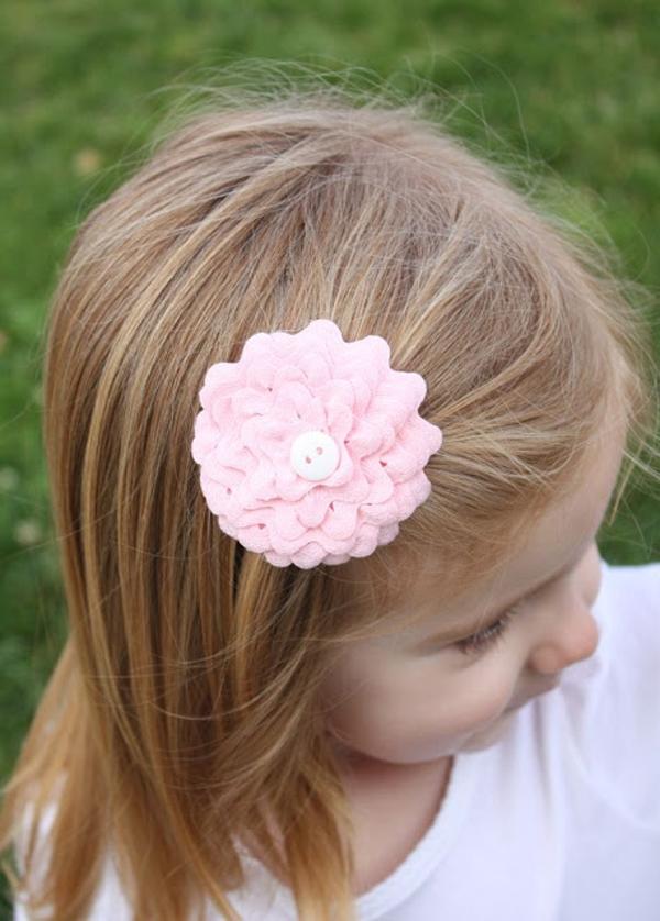 4 bước đơn giản làm kẹp hoa cho mái tóc thêm điệu đà 6