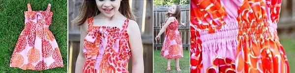 May váy đầm cho bé từ áo cũ của bố 8