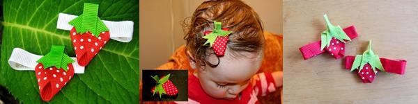 Mẹ làm kẹp tóc hoa mặt trời cho bé du xuân 7