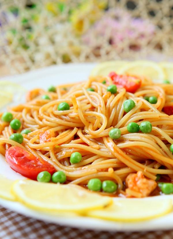Mỳ Ý tốc hành cho bữa sáng đủ chất 11