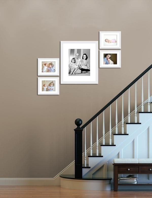Giúp nhà thêm đẹp và gọn với 6 kiểu sắp xếp khung ảnh  10