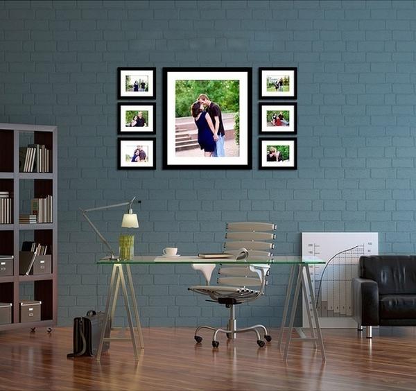 Giúp nhà thêm đẹp và gọn với 6 kiểu sắp xếp khung ảnh  2