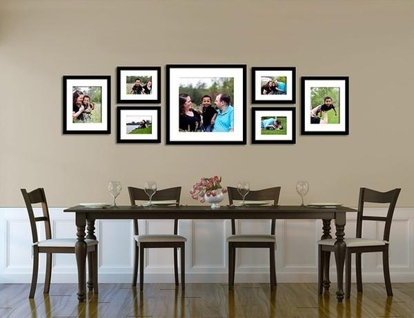 Giúp nhà thêm đẹp và gọn với 6 kiểu sắp xếp khung ảnh  4