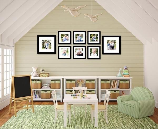 Giúp nhà thêm đẹp và gọn với 6 kiểu sắp xếp khung ảnh  5