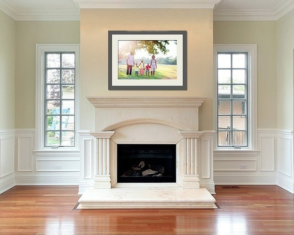 Giúp nhà thêm đẹp và gọn với 6 kiểu sắp xếp khung ảnh  6