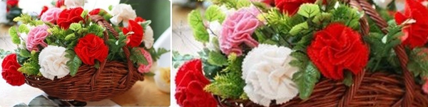 Làm hoa vải lãng mạn trang trí nhà thêm xinh 10