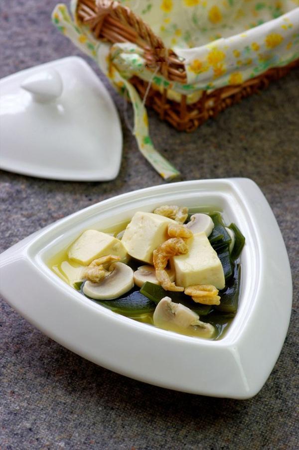 Canh đậu hũ rong biển mát lành ngon cơm 1
