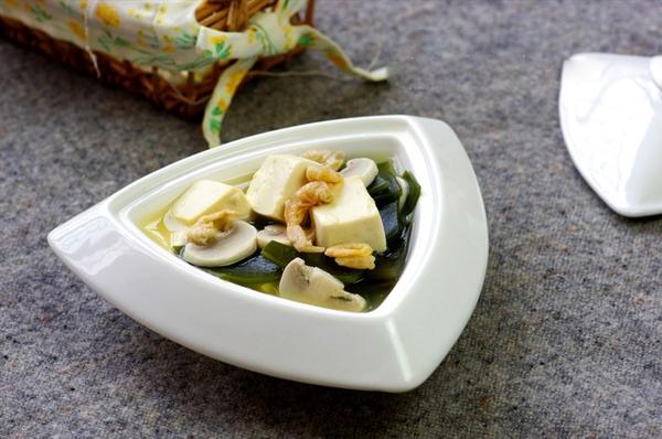 Canh đậu hũ rong biển mát lành ngon cơm 10