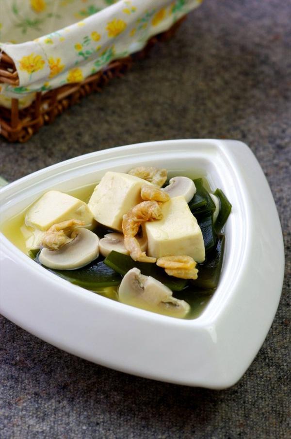 Canh đậu hũ rong biển mát lành ngon cơm 9