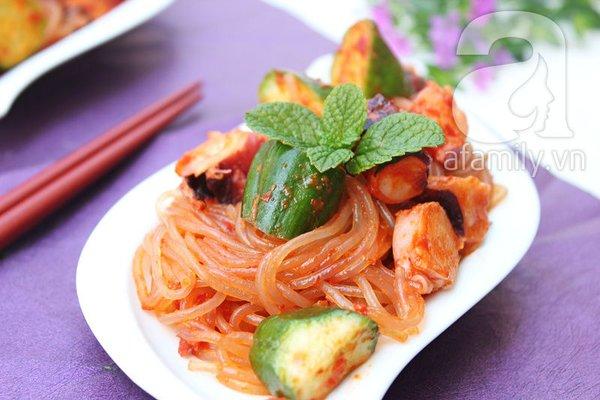 Salad bạch tuộc giòn ngon lạ miệng 1