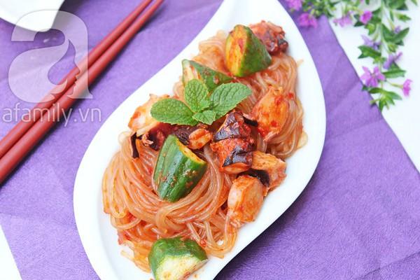 Salad bạch tuộc giòn ngon lạ miệng 10