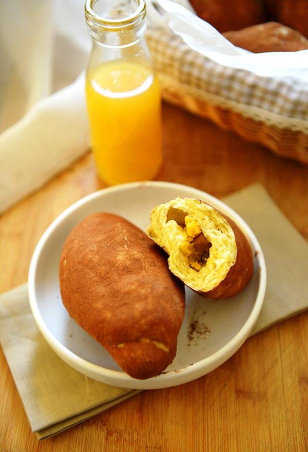 Làm bánh mỳ hình củ khoai lạ mắt 1