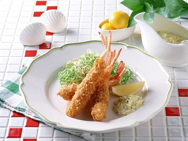 Cách làm tempura tôm giòn ngon đúng điệu 9