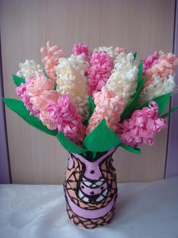 Cách làm hoa giấy siêu đơn giản mà đẹp mắt 7