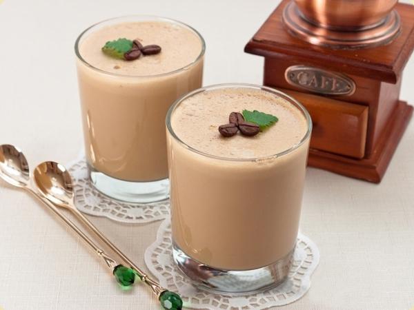 Pudding cà phê mềm mịn mát lạnh ngày hè