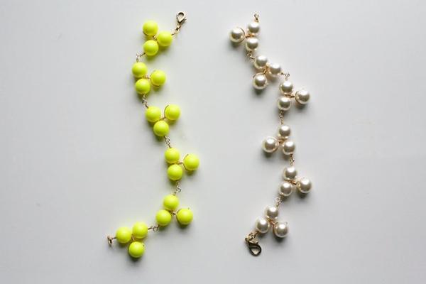 Tự chế lắc tay xinh yêu từ hạt cườm 8