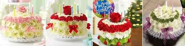 Đáng yêu kiểu cắm hoa hình bánh cupcake 16