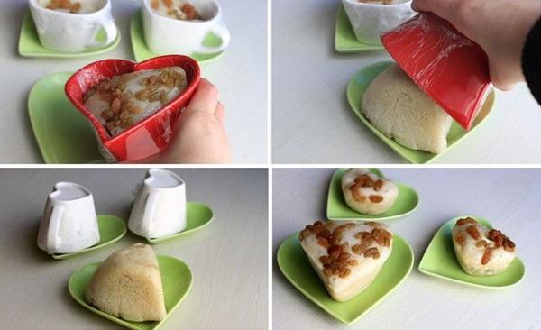 Làm bánh bao chay kiểu mới ăn sáng thật ngon 11