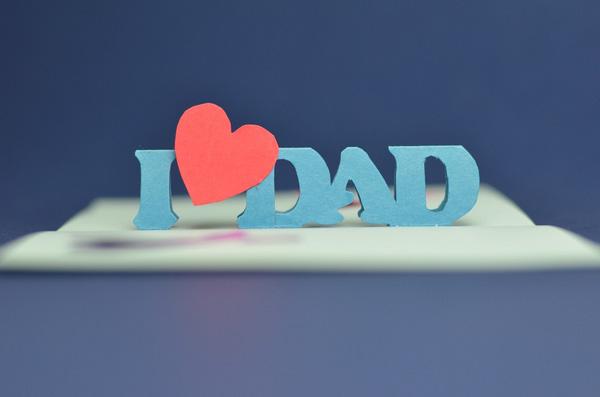 Tự làm thiệp nổi tặng cha nhân ngày Father's day 13