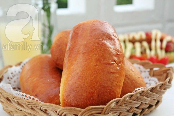 Tự làm bánh mỳ kẹp thơm phức cho bữa sáng 18