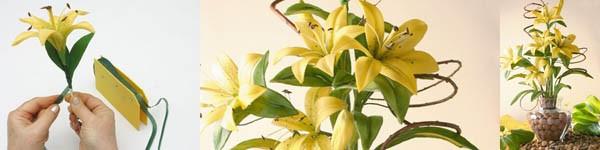 Làm hoa cẩm tú cầu đẹp như hoa thật 15