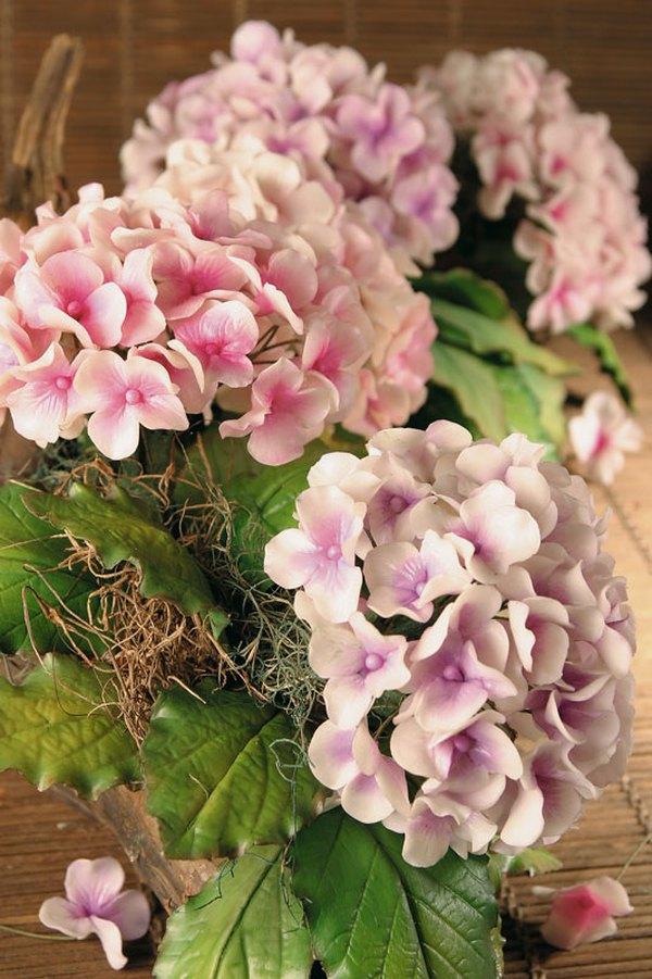 Làm hoa cẩm tú cầu đẹp như hoa thật 13