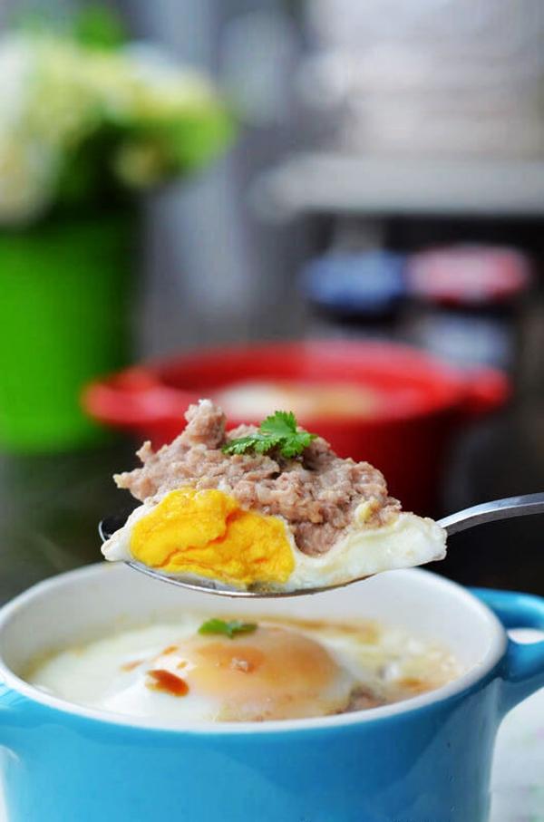 Biến tấu mới cho món trứng đúc thịt siêu ngon 1