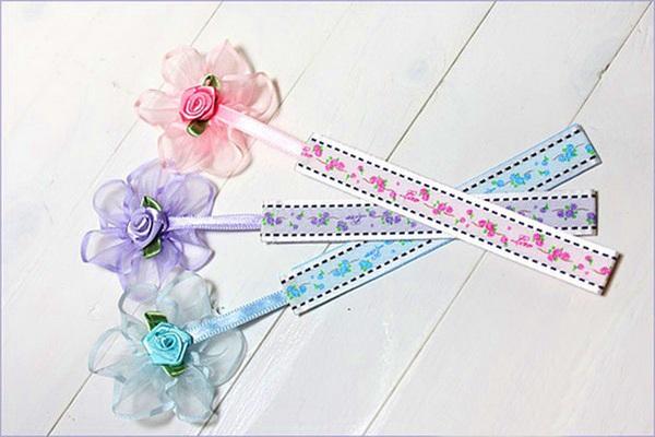 Tự chế bookmark hoa xinh yêu bắt mắt 1