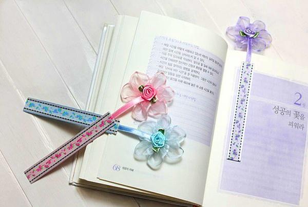 Tự chế bookmark hoa xinh yêu bắt mắt 15