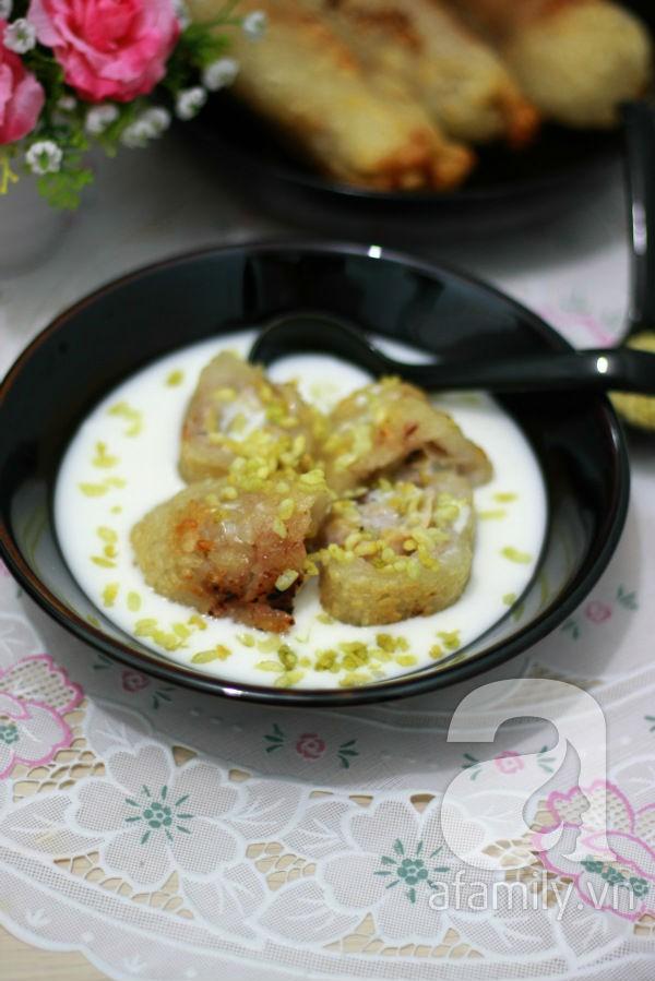 Chè chuối cốm ngọt thơm hương vị mùa thu 21