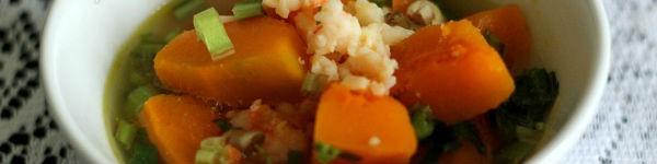 Ngọt lành món canh khoai mỡ thịt viên 17