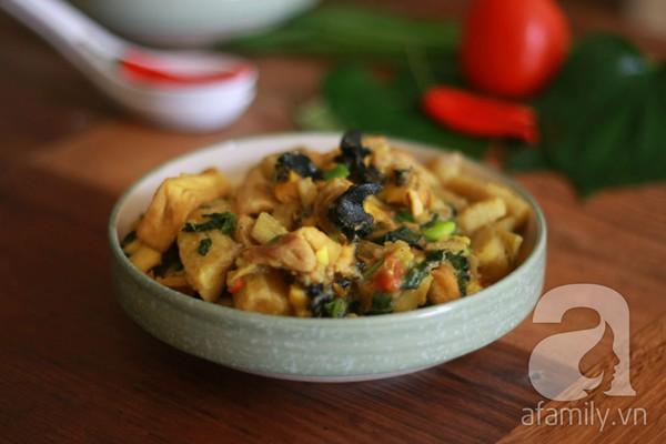 Món ngon cuối tuần: Ốc nấu chuối đậu 1