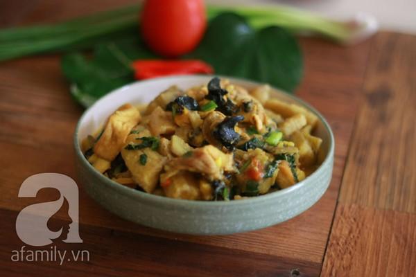 Món ngon cuối tuần: Ốc nấu chuối đậu 31