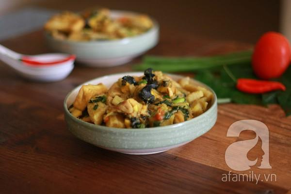 Món ngon cuối tuần: Ốc nấu chuối đậu 30