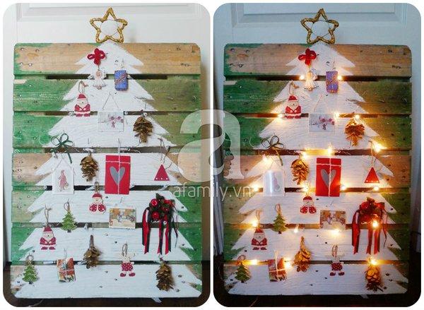 Tự chế cây thông Noel lung linh đón Giáng Sinh 1