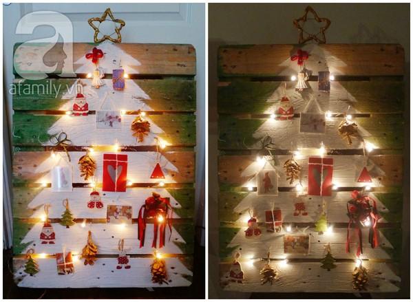 Tự chế cây thông Noel lung linh đón Giáng Sinh 12