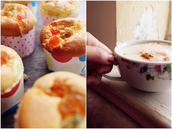 Bánh cupcake trái cây xốp mềm thơm phức 16