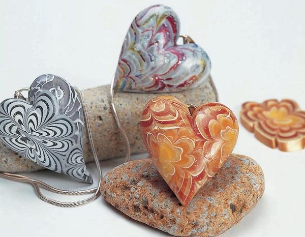 Tự chế mặt chuyền trái tim với hoa văn tuyệt đẹp 14