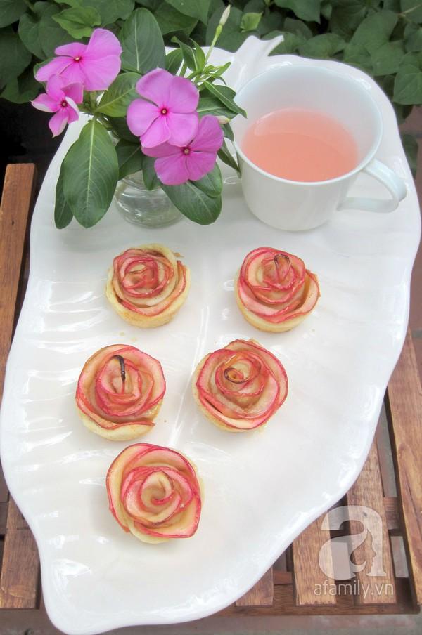 Valentine lãng mạn với tart hoa hồng đẹp mắt 23