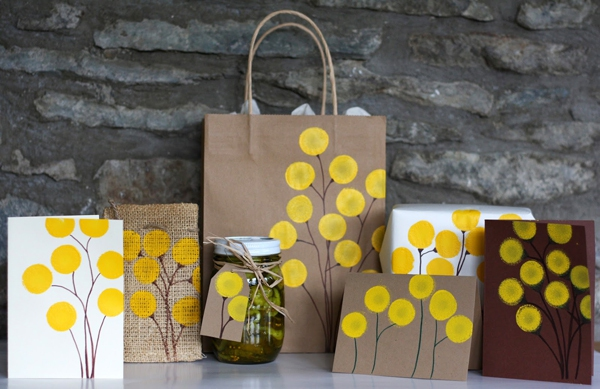 Cách trang trí túi xách, gói quà, thiệp đơn giản mà đẹp 14