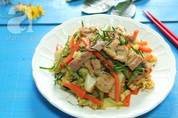 Thịt xào rau củ kiểu Thái ngon mắt ngon miệng 17