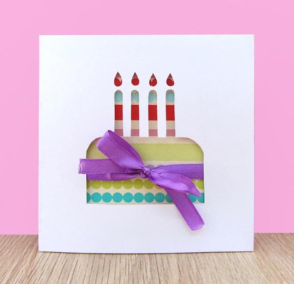 Tự làm thiệp sinh nhật thật tươi vui và dễ dàng 14