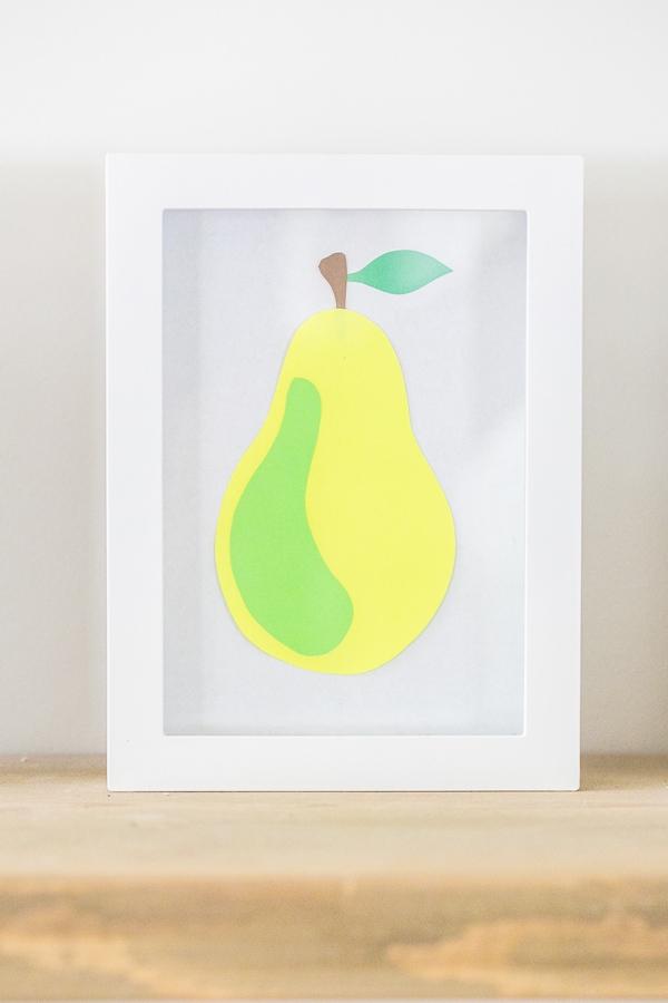 Khéo tay làm bộ tranh trái cây sắc màu trang trí nhà thêm ấn tượng 1